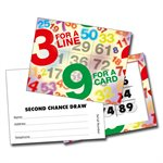 3 & 9 MINI BINGO CARDS