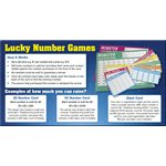 GIANT LUCKY NUMBER CARD GAME 1-100