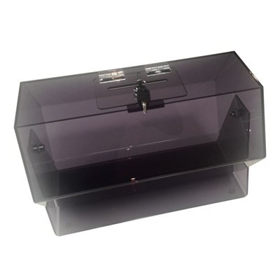TABLE BARREL 500 X 400 TINTED WITH STAND