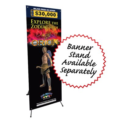BANNER STAND (TO SUIT 600MM X 1600MM BANNER)