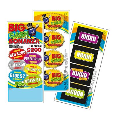 BIG CASH BONANZA 3 x $200 LUCKY ENVELOPE