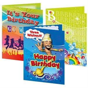 BIRTHDAY VOUCHER CARDS