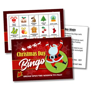 Christmas Day Bingo Gift Boxes