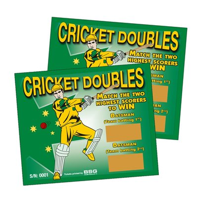 CRICKET DOUBLES SCRATCH