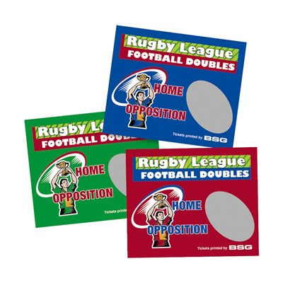 RUGBY LEAGUE DOUBLES SCRATCH (289 TICKETS)