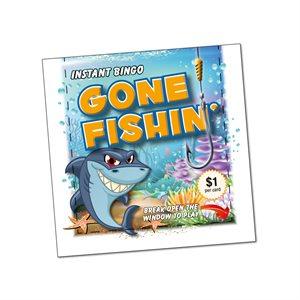 GONE FISHING $1 LUCKY ENVELOPE