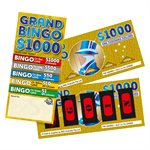 GRAND BINGO LUCKY ENVELOPES
