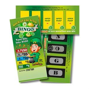 IRISH BINGO 6 x $150 LUCKY ENVELOPES