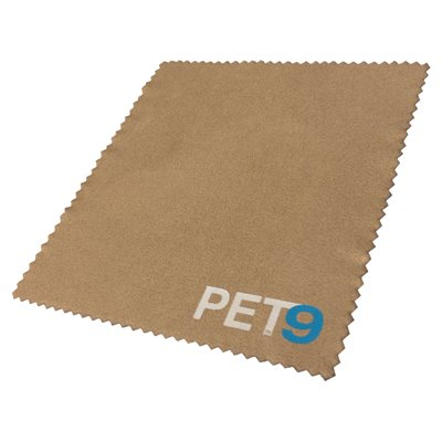 LENS CLOTH WITH PET9 LOGO