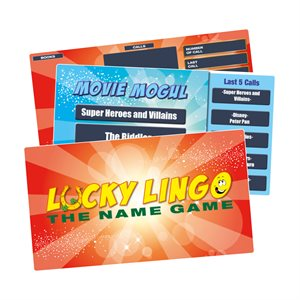 MFP LUCKY LINGO PROMOTIONAL GAMES