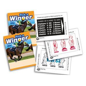 MINI PICK A WINNER 2 x $50 20c LUCKY ENVELOPES