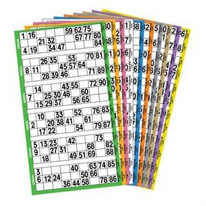 5 GAME BOOK 6UP PREMIUM 10 COLOUR ROTATION