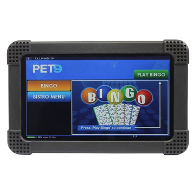 PET9 HAND HELD BINGO ELECTRONIC UNITS