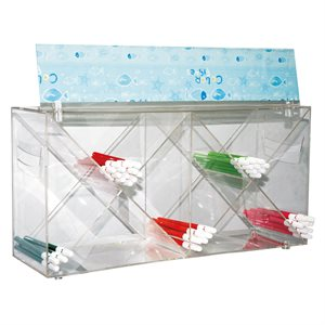 8 HOLE BINGO PEN HOLDER  CLEAR