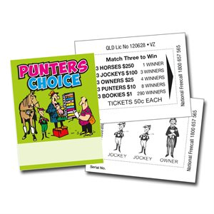 MINI PUNTERS CHOICE  x $250 LUCKY ENVELOPES