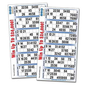 BSG REWARDS BINGO SINGLE TICKETS QLD