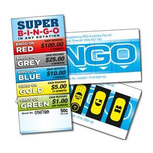 SUPER BINGO 6 x $100 LUCKY ENVELOPES