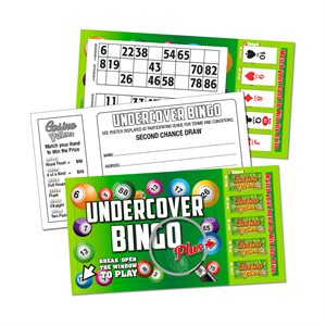 UNDERCOVER BINGO PLUS CASINO POKER