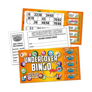 UNDERCOVER BINGO PLUS GONE FISHING