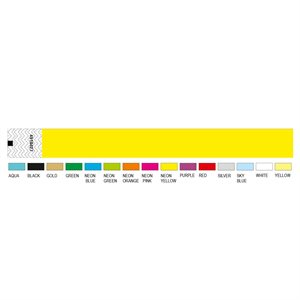WRISTBAND - SOLID COLOUR 25MM