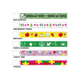 WRISTBAND - DESIGN PRINT 19MM