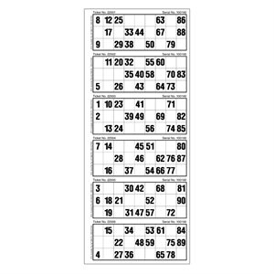 LARGE SINGLE TICKETS 6UP LOOSE (VISION IMPAIRED)