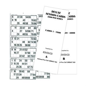 DELUXE SESSION CARDS 1-3.000