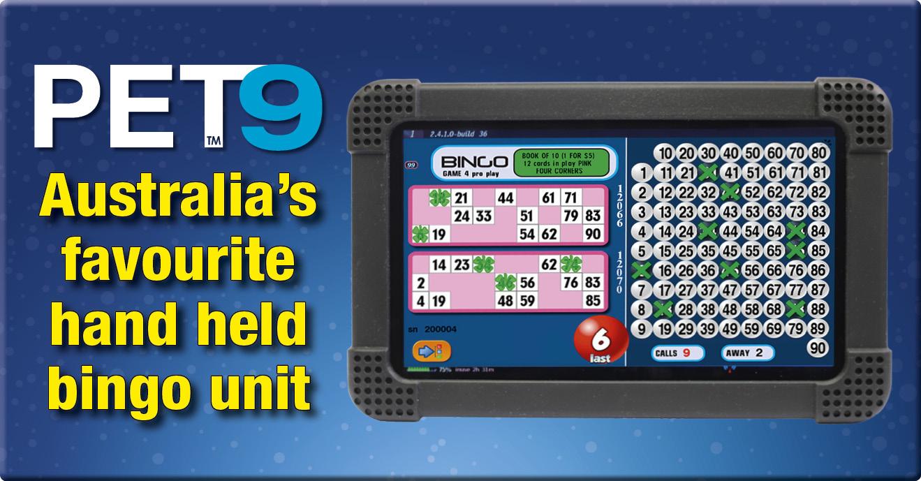 Bingo Handheld PET Tablets