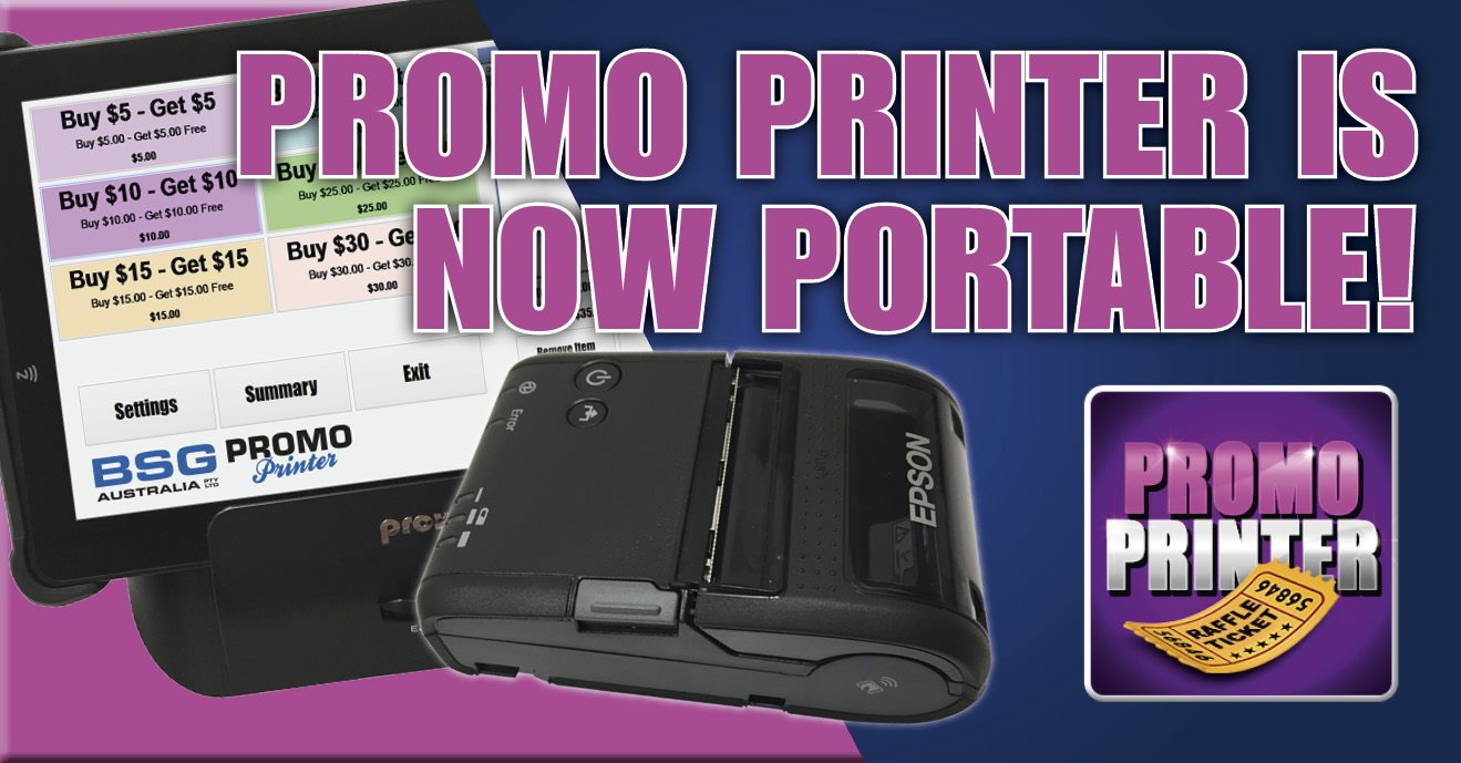 Portable Promo Printer, Print Your Own Raffle Tickets